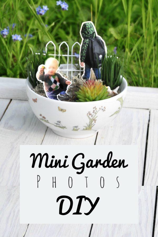Minigarten mit Familie