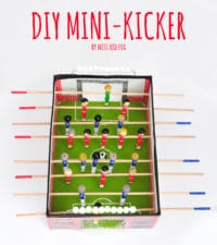 DIY Mini Kickertisch