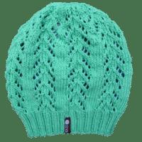 Sommerliche Mütze mit Lochmuster