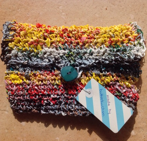 Häkelanleitung Upcycling Tasche Aus Plastik Garn Handmade Kultur