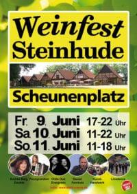 7. Weinfest Steinhude vom 09. bis zum 11. Juni 2017