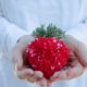 DIY Pompom Erdbeere