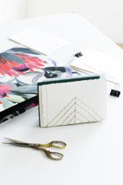 DIY Briefhalter aus Metall
