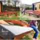 Eine Terrasse aus Holz - manchmal gerät der Hobbygärtner an seine Grenzen