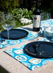Tischsets mit Biesen nähen