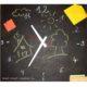 Uhren selber bauen: im Schultafel - Look