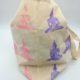Stofftaschen mit Moosgummi Stempel selbst bedrucken