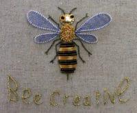 Workshop Goldstickerei - Bee Creative
