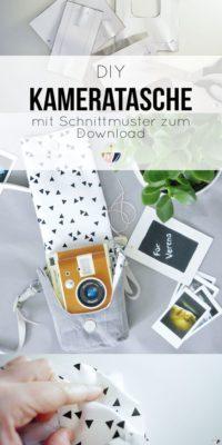 DIY Kameratasche nähen für die LOMO Sofortbildkamera