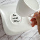 Schöne Botschaften auf Porzellan verkünden...