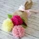 DIY: Pompom-Blumenstrauß