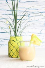DIY Ananas-Vase