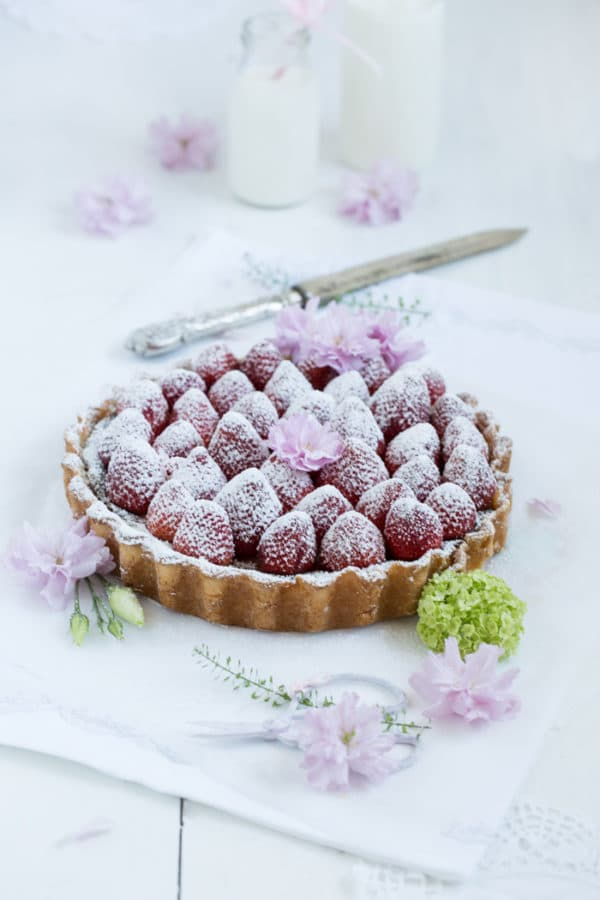 """""""Ricotta-Erdbeer-Tonkabohnen-Tarte!"""" [Köstlichst]"""