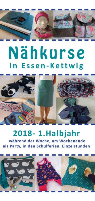Nähkurse in Essen Kettwig