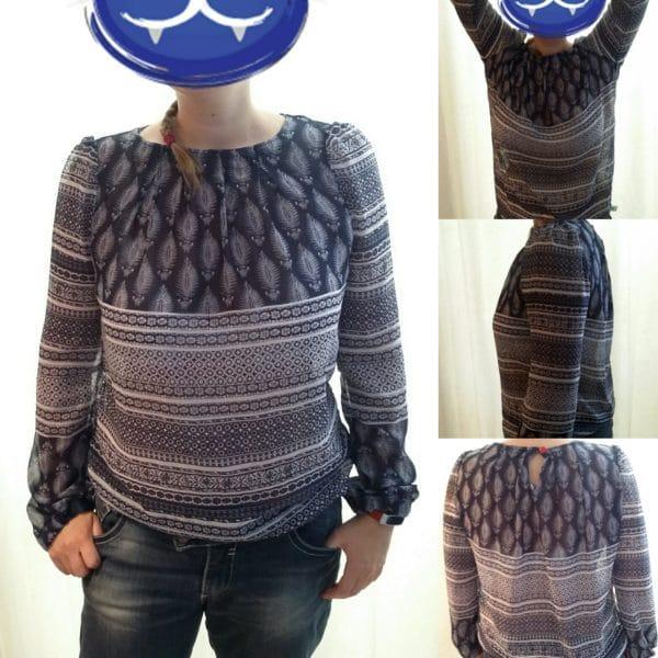 Bluse No. 2 aus Handmadekultur
