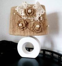 Tischlampe Landhausstil Shabby Chic