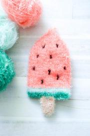 Melonen-Eis Spühlschwamm