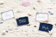 DIY Namensschild im Maritim-Style
