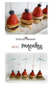 Pancakes Spieße oder Pancakes – das Rezept