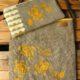 Stempeln mit Sellerie - Taschen-Upcycling