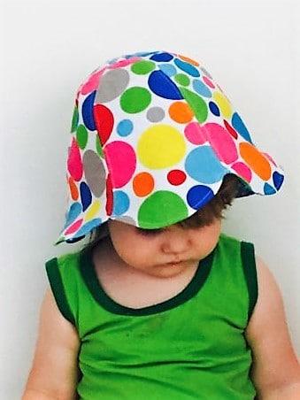 Sonnen(Wende)hütchen für Kinder - SM Freebie