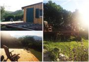 Wir bauen eine Terrasse aus Holz