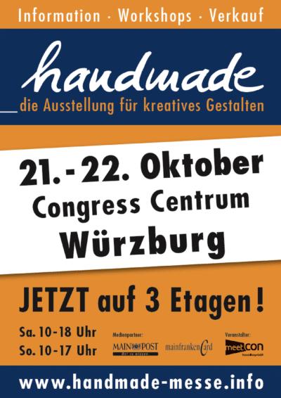 handmade Würzburg - die Ausstellung für kreatives Gestalten