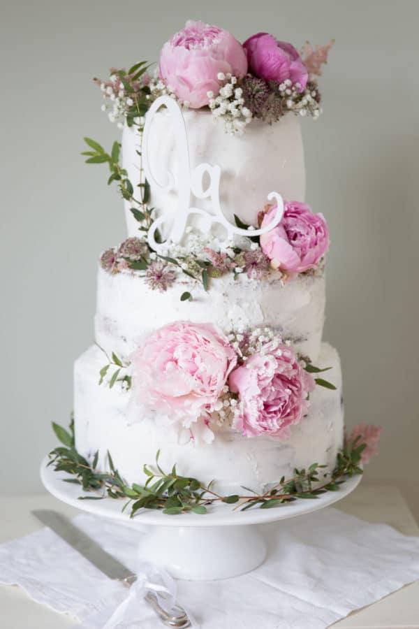Hochzeitstorte und Party des Jahres