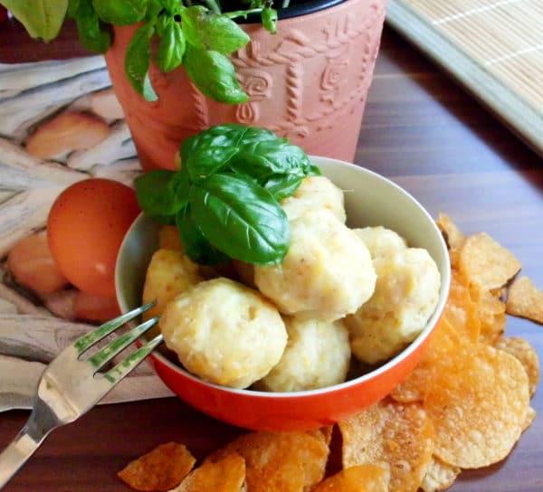 Tortillachips-Klößchen