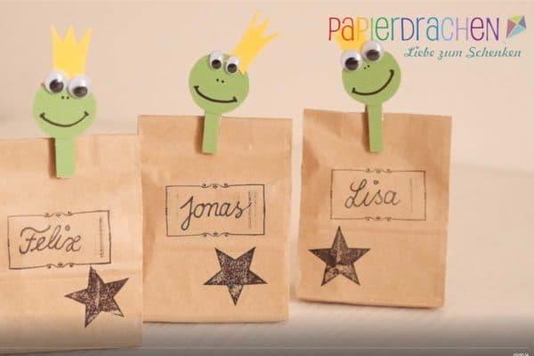 Kindergeburtstag Goodie Bags