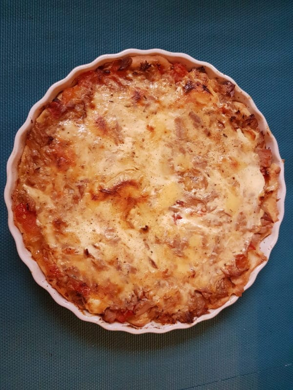 Thunfisch Quiche