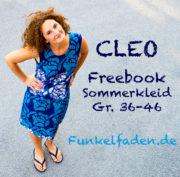 Freebook Sommerkleid Cleo Gr. 36-46