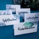 Hortensien-Tischkarten zum Ausdrucken