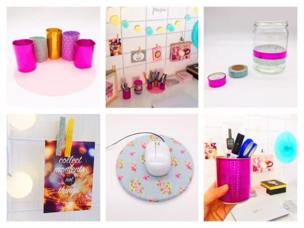 DIY und Deko Ideen für Schreibtisch und Büro