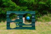 Eine Fussball Torwand aus Paletten selber bauen