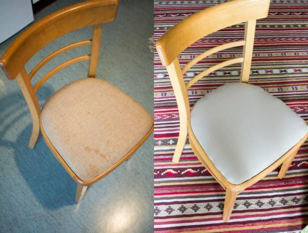 gepolsterten sessel neu beziehen handmade kultur. Black Bedroom Furniture Sets. Home Design Ideas