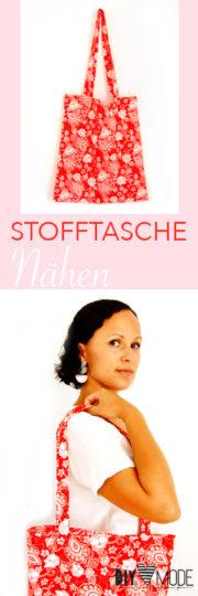 Stofftasche nähen / Video-Anleitung