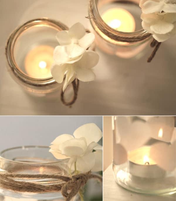 DIY Windlichter für die Hochzeit