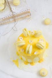 """""""Zitronentorte mit Macarons!"""" [So schmeckt der Sommer]"""