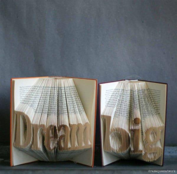 3D Book Art - Bücher falten