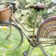 Gehäkeltes Fahrradnetz