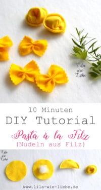 DIY Nudeln (für Kinderküche und Kaufladen)