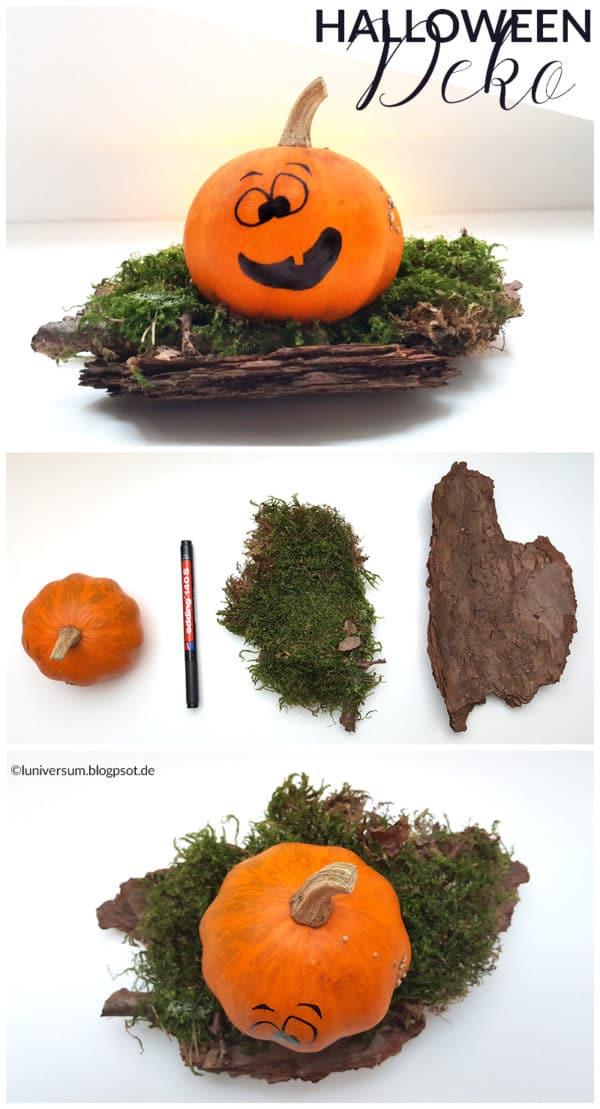 Halloween Deko Aus Dem Wald Handmade Kultur