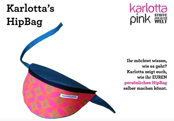 Anleitung für HipBag - Hüfttasche