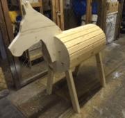 Holzpferd selber bauen