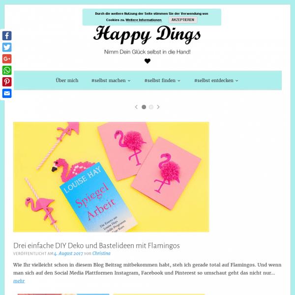 Happy Dings - selbst machen, selbst finden, selbst entdecken