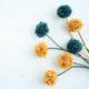 Pom Pom Blumen | DIY für den Boho summer