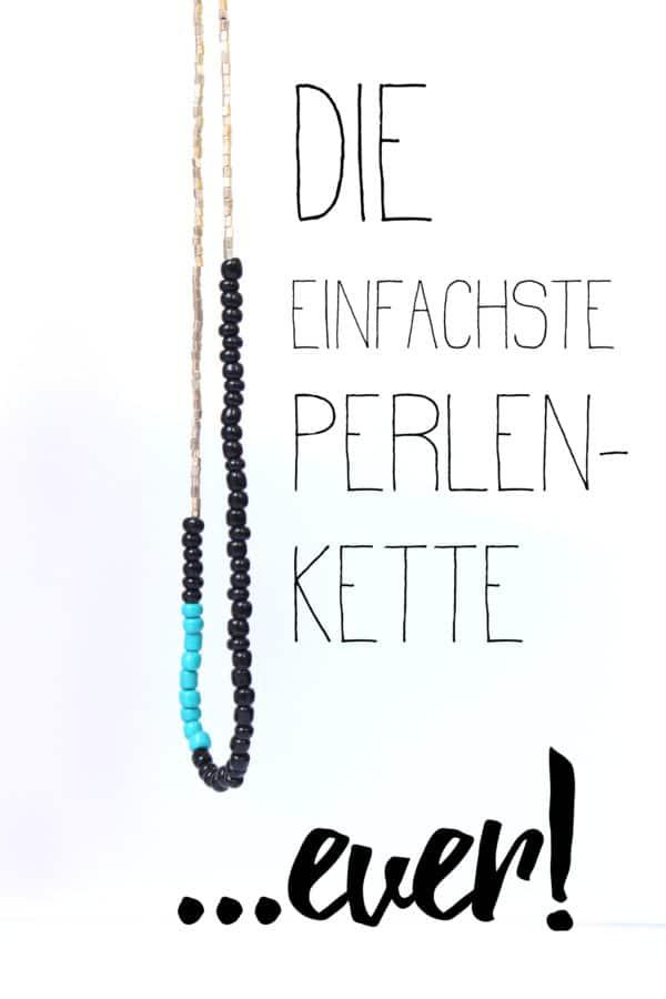 Die einfachste Perlenkette ...ever!