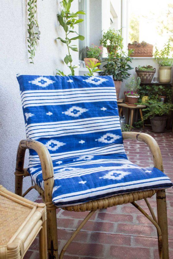berzug f r sessel n hen handmade kultur. Black Bedroom Furniture Sets. Home Design Ideas