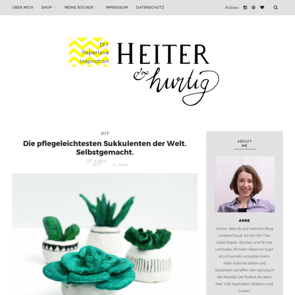 heiter & hurtig | DIY, Paperlove, Inspiration